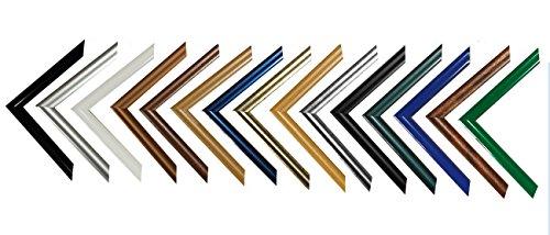 easy kunststoff bilderrahmen 50x70 cm 70x50 cm farbwahl hier silber antik mit acrylglas. Black Bedroom Furniture Sets. Home Design Ideas