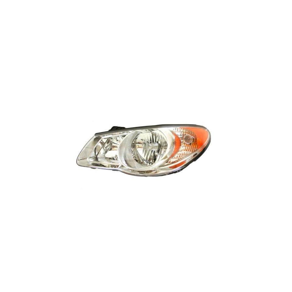 Genuine Hyundai Parts 92101 2H050 Driver Side Headlight Assembly Composite