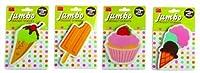 DCI Dessert Jumbo Eraser, Assorted Styles, 25983