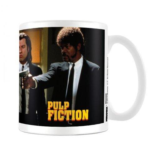 Pulp Fiction Guns Movie Poster Tazza in ceramica