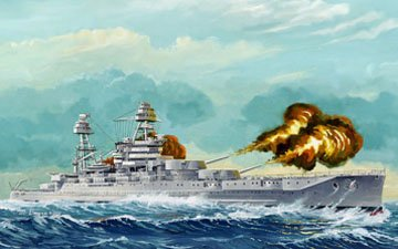 1/350 USS Arizona BB-39