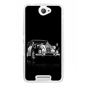 a AND b Designer Printed Mobile Back Cover / Back Case For Sony Xperia E4 (SON_E4_328)