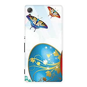Special Animated Butterflies Print Back Case Cover for Xperia Z3 Plus
