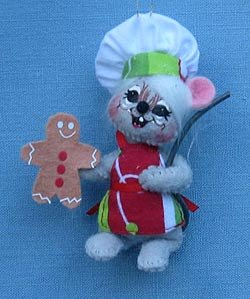 Annalee 3″ Gingerbread Chef Mouse