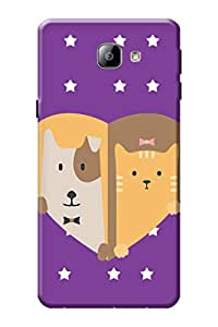 Samsung Galaxy A9 Cover, Premium Quality Designer Printed 3D Lightweight Slim Matte Finish Hard Case Back Cover for Samsung Galaxy A9 by Tamah