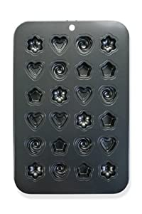 Non-Stick Carbon Steel Petit Fours & Chocolate Mold Tray - Assorted Designs