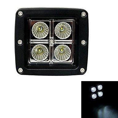 12W-TypeF-Flood-6000K-4-Cree-XB-D-LED-Square-Work-Light-Bar-DIY-Used-in-CarBoatAuto-Headlight
