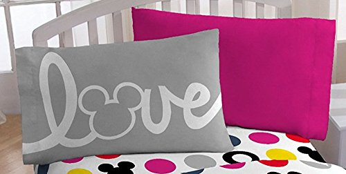 Disney Mickey Chevron Pillowcase Set - 1