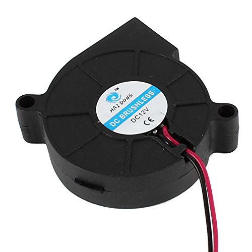 50Mm X 10Mm Dc 12V 2Pin 3000Rpm Brushless Blower Cooling Fan