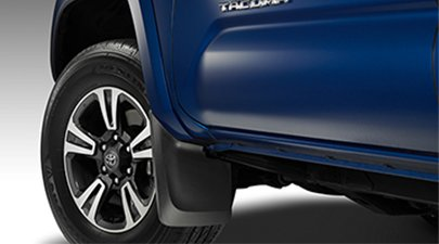 Genuine Toyota Tacoma Mudguard Set PT345-35170. Black 4 Piece Set. 2016 Tacoma (Toyota Mud Flaps compare prices)