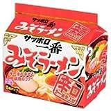 サンヨー食品 サッポロ一番 みそラーメン 辛口ラー油仕上げ 5食パック×6個入