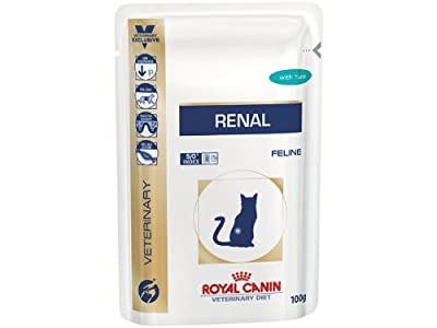 Royal Canin Veterinary Diet Renal Wet Feline 48 x 85 g Tuna Sachet