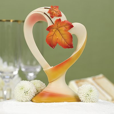 Hortense B. Hewitt Wedding Accessories Cake Top, Simply Autumn