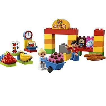 41z 5eTEGQL Cheap Buy  LEGO DUPLO My First Supermarket 6137