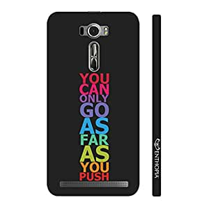 Enthopia Designer Hardshell Case Keep Pushing Back Cover for Asus Zenfone 2 Laser ZE601KL