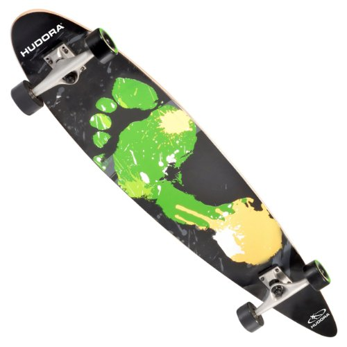 longboard malibu von hudora mit abec 7 kugellager. Black Bedroom Furniture Sets. Home Design Ideas