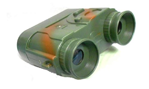 Toy Kids Electronic Dark Ops Toy Magnifying Binoculars W/Led Light