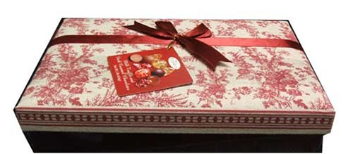 Gudrun Milk Chocolate Truffles and Dark Caramel Chocolates Holiday Sampler Gift Box