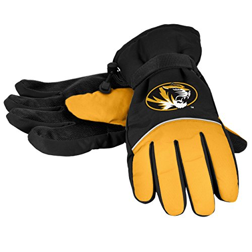 NCAA Missouri Tigers High End Insulated Glove, One Size, Brown (Missouri Football Gloves compare prices)