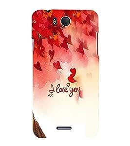 Fuson Premium Eternal Love Printed Hard Plastic Back Case Cover for INFOCUS M530