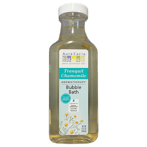 Aura Cacia Tranquility Natural Aromatherapy Bubble Bath -- 13 fl oz