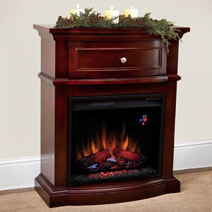 ChimneyFree Morgan Petit Foyer in Empire Cherry Finish - 23SM6344-NEC244 photo B00AB7RIB6.jpg