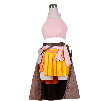 Final Fantasy XIII Cosplay Costume -Vanille 1st Medium