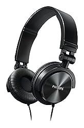 Philips DJ Clear And Powerful Bass Headphones-Black