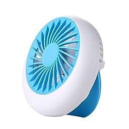 The Snail Fan Portable Mini USB Rechargeable Cooling Replenishment Fan Powered by 18650 Rechargeable Portable Mini Fan