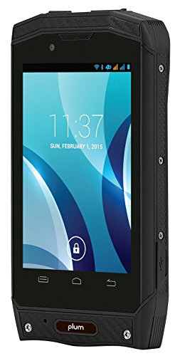 Plum Gator Plus 2 Unlocked Rugged Android Smart Phone - 3.5