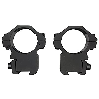 "SAS 30mm Dovetail 3/8"" Scope Rings 3/4"" Height - Pair from Southland Archery Supply"