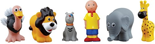 Caillou Bathtime Safari Toy - 1