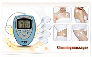 WOW SLIM X Portable Slimming Massager with Electrode Physiotherapy Patches