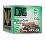 Novus Jasmine Green 100% Organic Tea, 50 Count Tea Bags