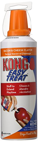 KONG 8-Ounce Stuff'N Easy Bacon and Cheese Treat for Dogs