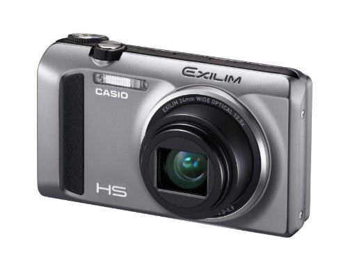 Casio High Speed Exilim Ex-ZR400 Digital Camera Silver EX-ZR400SR