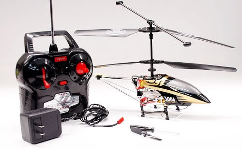 3 Channel Alloy Shark RC Remote Control Metal Frame Helicopter