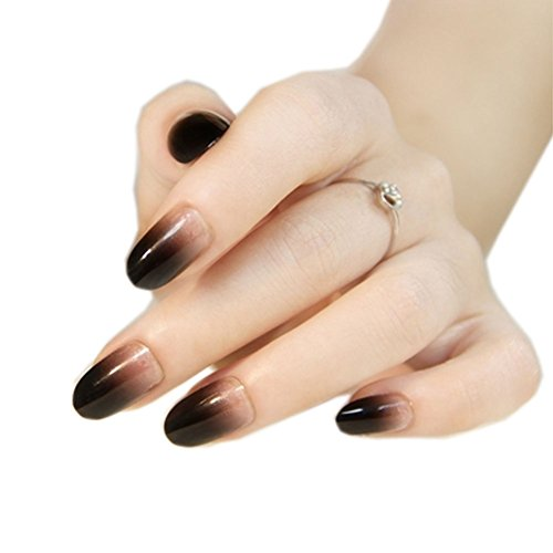 stilvolle gradient nail art franz sisch art pre designed. Black Bedroom Furniture Sets. Home Design Ideas