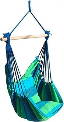 """Hängesessel """"Tobago"""" mit 2 Kissen Farbe: Blau / Beige von Garden Pleasure auf Gartenmöbel von Du und Dein Garten"""