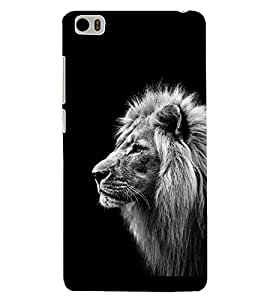PRINTSHOPPII LION Back Case Cover for Xiaomi Redmi Mi5::Xiaomi Mi 5