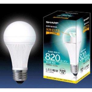 SHARP LED電球「ELM」E26一般電球型 昼白色相当 DL-LA83N