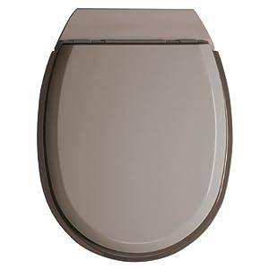 Abattant WC Renessa en bois gris: Cuisine & Maison
