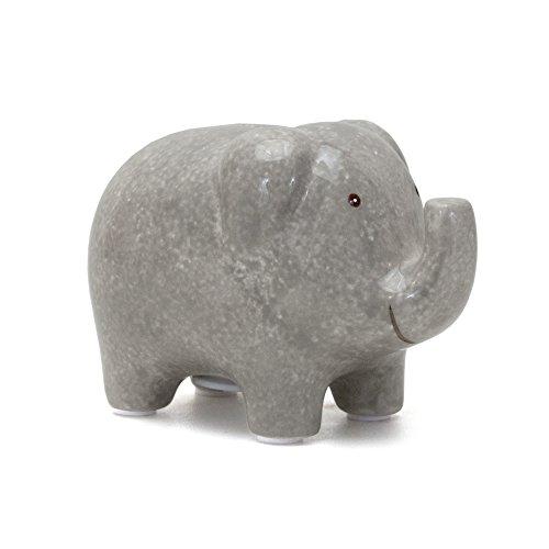 Child to Cherish Mini Elephant Bank, Grey