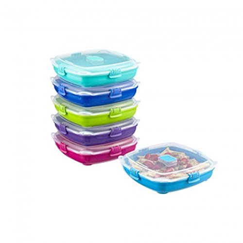 Sistema Klip It Medium Microwave Plate Togo Assorted Colors (Sistema Medium Microwave Plate compare prices)
