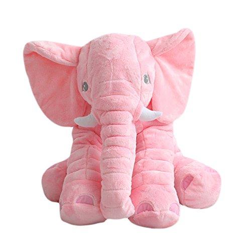 MorisMos-Elephant-Pillow-Child-Cute-Stuffed-Animal-Elephant-Plush-Pillow-Toy-Pink-24-inch60cm-60x45x25cm