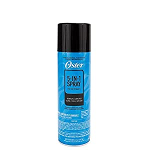 Oster 076300-107-005 5 in 1 Clipper Blade Care Spray, 14 Ounce