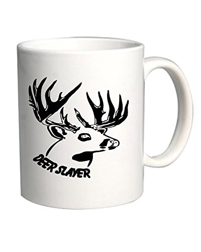 T-Shirtshock - Tazza 11oz FUN1184 deer slayer 2, Taglia 11oz