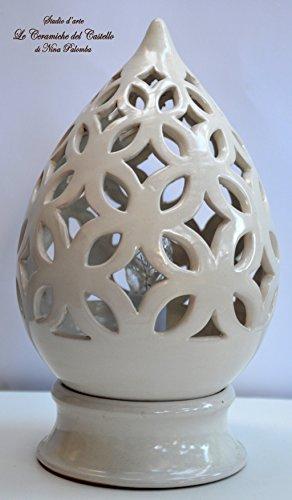 lampada-linea-bianca-traforo-handmade-le-ceramiche-del-castello-made-in-italy