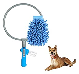 Pet Washer 360 Revolutionary with Free Drying Mitt, Designed for Dog/Cat Washing, Magical 360, Shampoo, Quick Pet Cleaning, Small