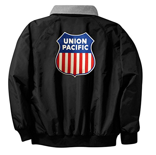 [Union Pacific Logo Embroidered Jacket Front and Rear Adult XL [47r]] (Pirate Coat For Sale)